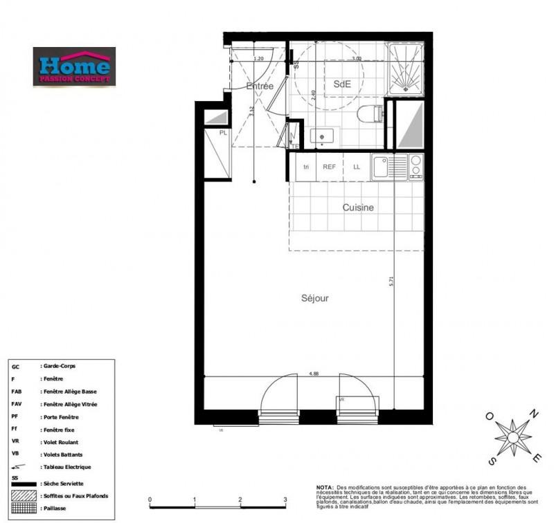Sale apartment Rueil malmaison 295000€ - Picture 1