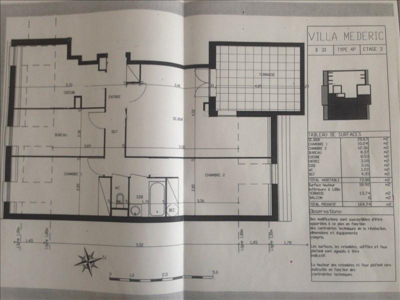 Location appartement Noisy le grand 1170€ CC - Photo 3