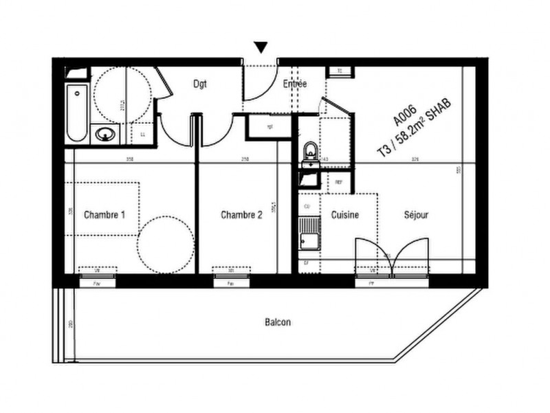 Sale apartment Aigues mortes 199000€ - Picture 2