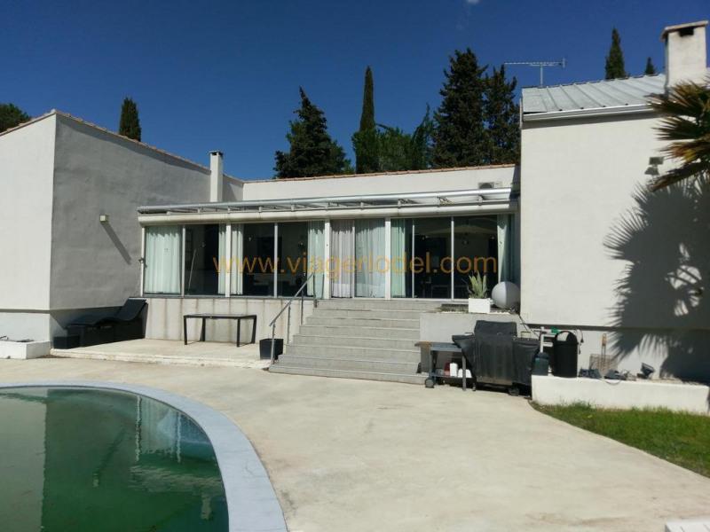 Vendita nell' vitalizio di vita casa Sussargues 150000€ - Fotografia 2