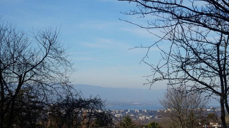 Terrain vue Lac Léman et Salève