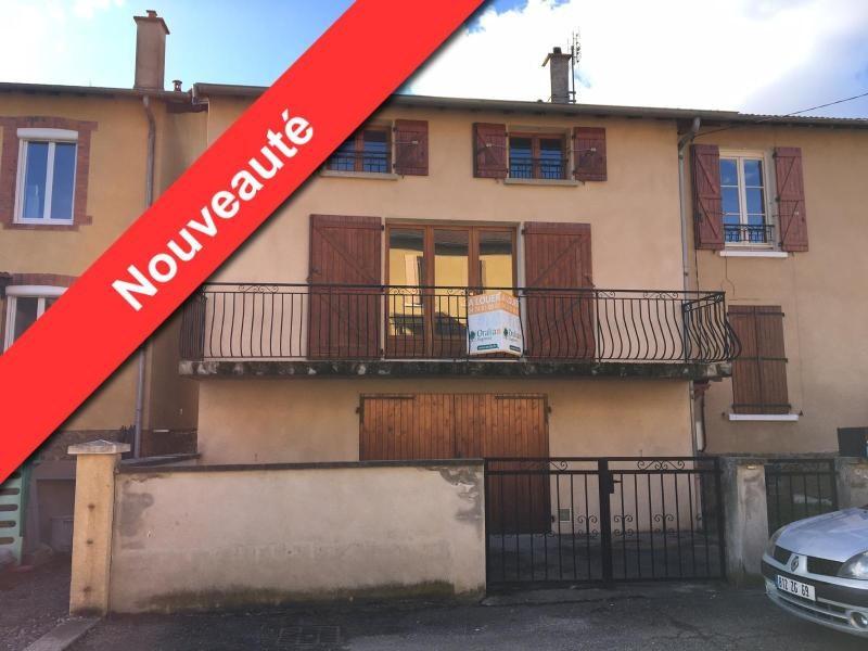 Location maison / villa Ste foy l argentiere 620€ CC - Photo 1