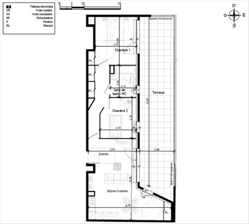 Deluxe sale apartment Le lavandou 412000€ - Picture 2