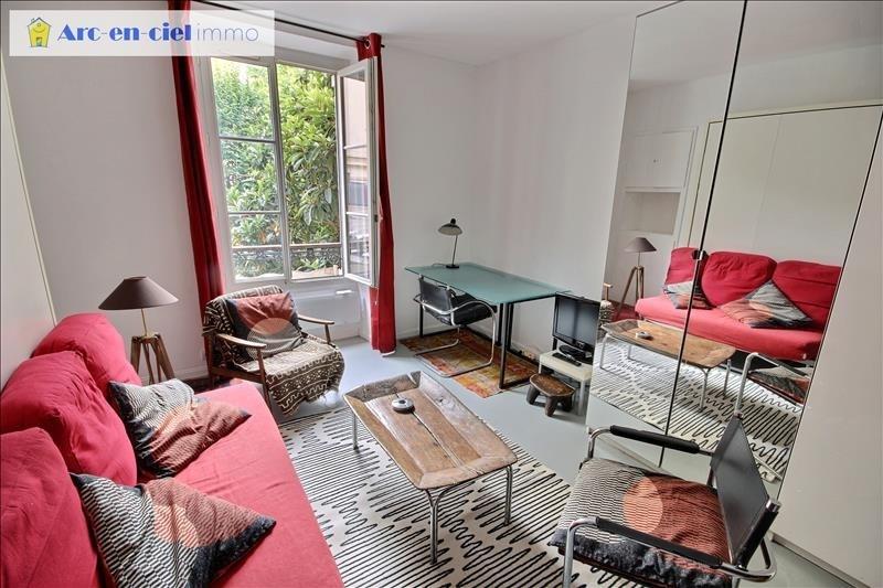 Verhuren  appartement Paris 9ème 1095€ CC - Foto 3