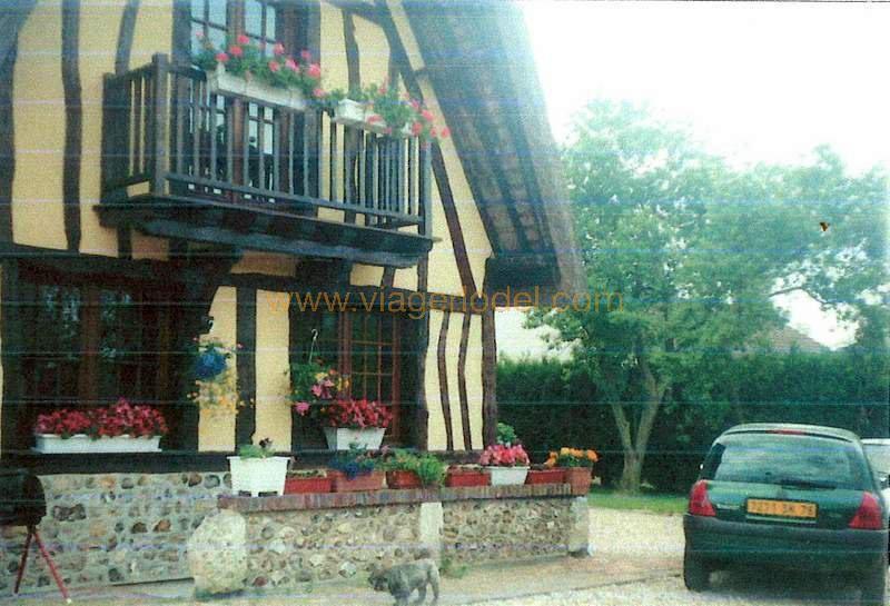 Verkauf auf rentenbasis haus Blacqueville 92500€ - Fotografie 5