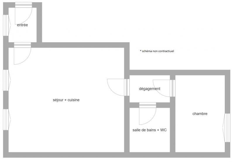 Vente appartement Suresnes 390000€ - Photo 2