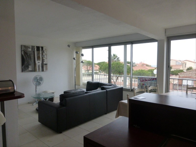 Sale apartment Le barcares 139 000€ - Picture 1