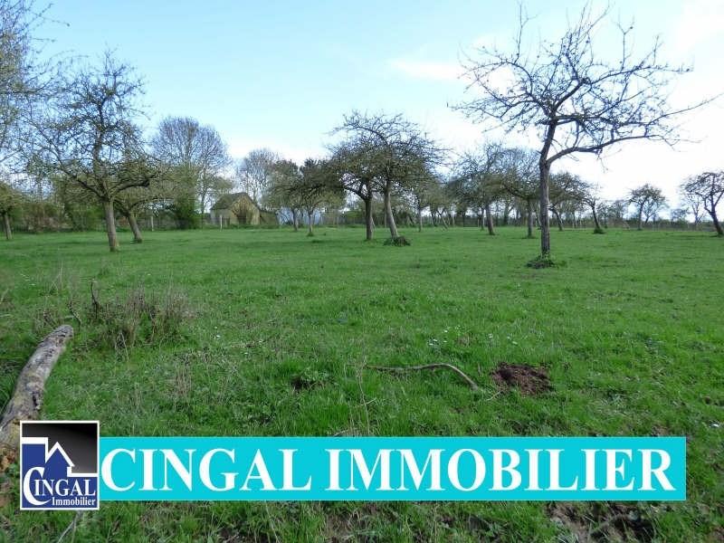 Vente terrain Cesny bois halbout 37000€ - Photo 1