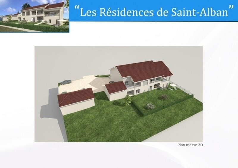 Sale apartment St alban de roche 268000€ - Picture 3