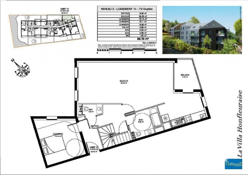 Vente appartement Honfleur 162750€ - Photo 11
