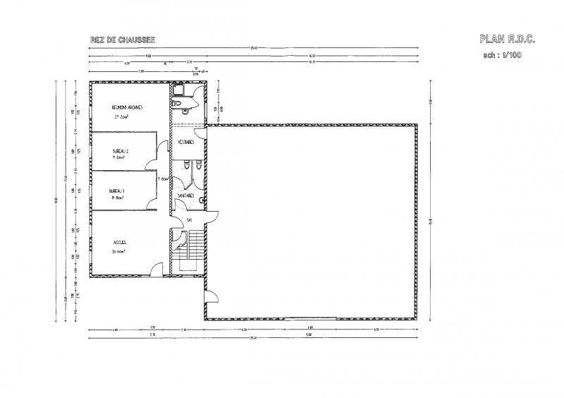 Revenda armazém Beaumont monteux 302000€ - Fotografia 10