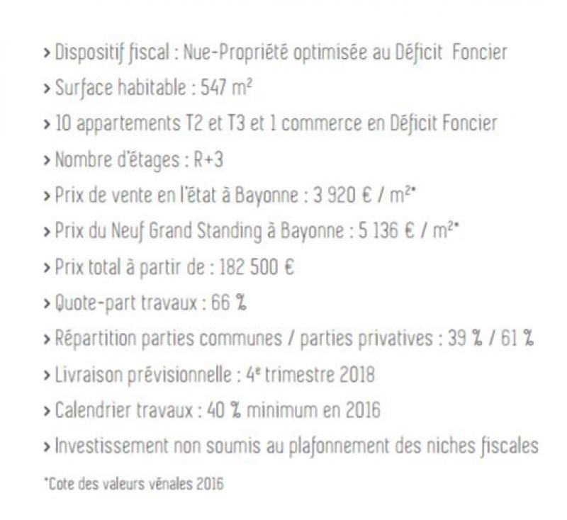 Vente neuf programme Bayonne  - Photo 4