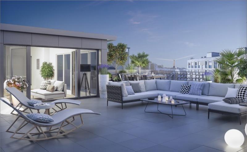 Venta  apartamento Levallois perret 976000€ - Fotografía 3