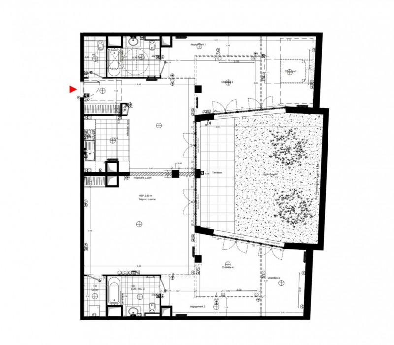 Vente de prestige appartement Paris 18ème 1300000€ - Photo 1