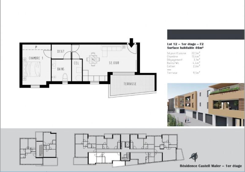 Vente appartement Argeles sur mer 173500€ - Photo 2