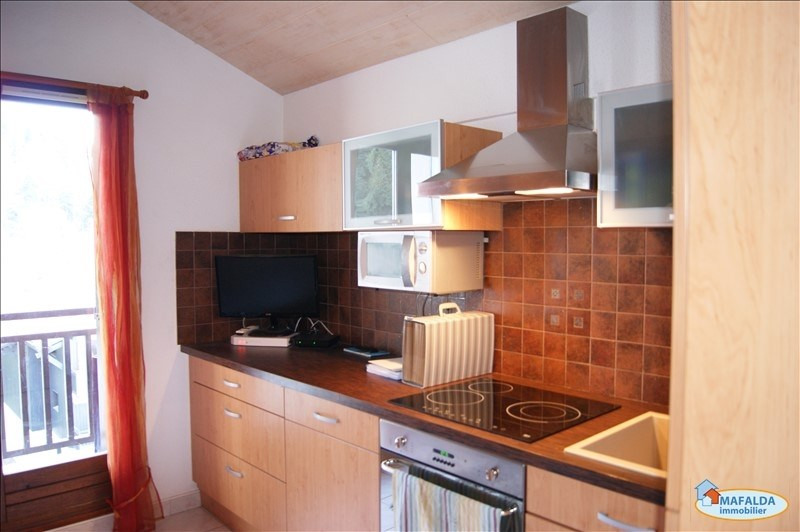 Rental apartment Mont saxonnex 500€ CC - Picture 2