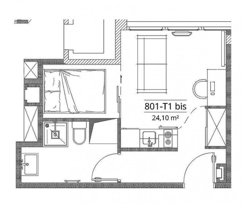 Producto de inversión  apartamento Toulouse 129056€ - Fotografía 4