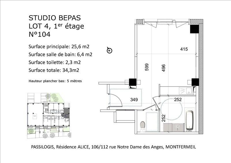 Vente appartement Montfermeil 124200€ - Photo 3