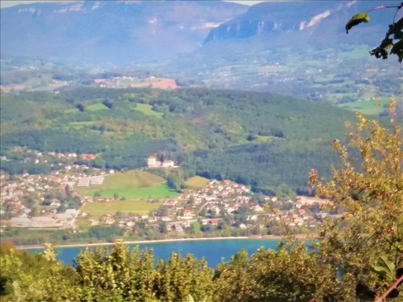 Vendita terreno Le bourget du lac 88000€ - Fotografia 2