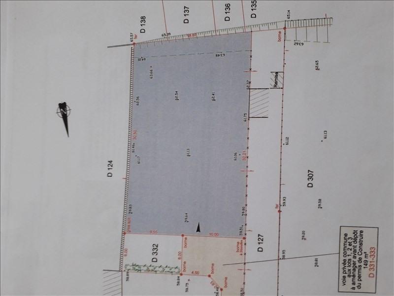 Vente terrain La ferte sous jouarre 79500€ - Photo 2