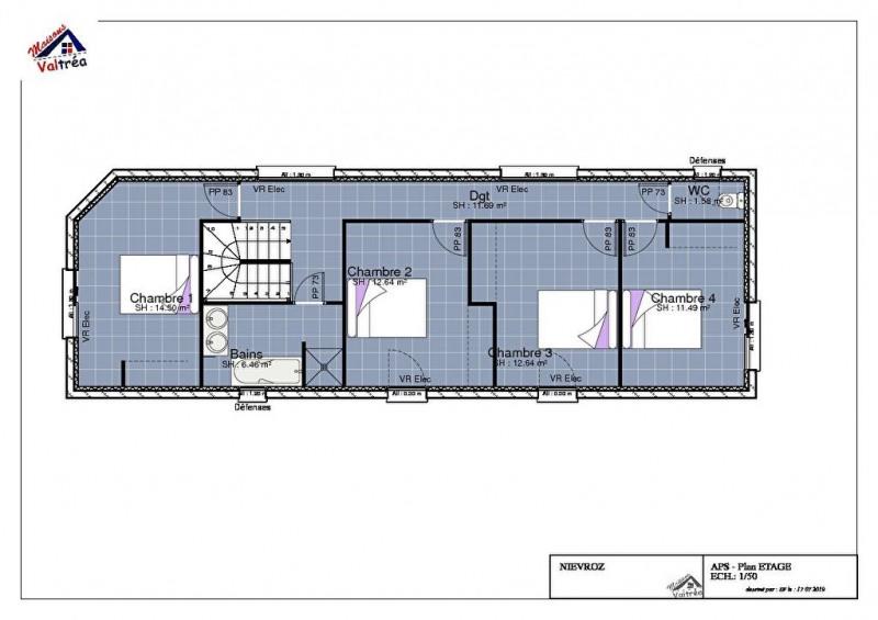 Vente maison / villa Nievroz 400000€ - Photo 4