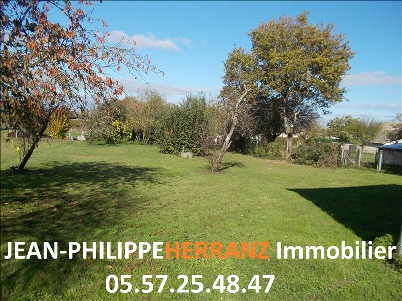 Sale site Libourne 32 000€ - Picture 1
