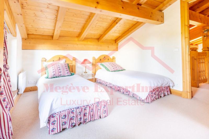 Vente de prestige appartement Megève 3900000€ - Photo 14