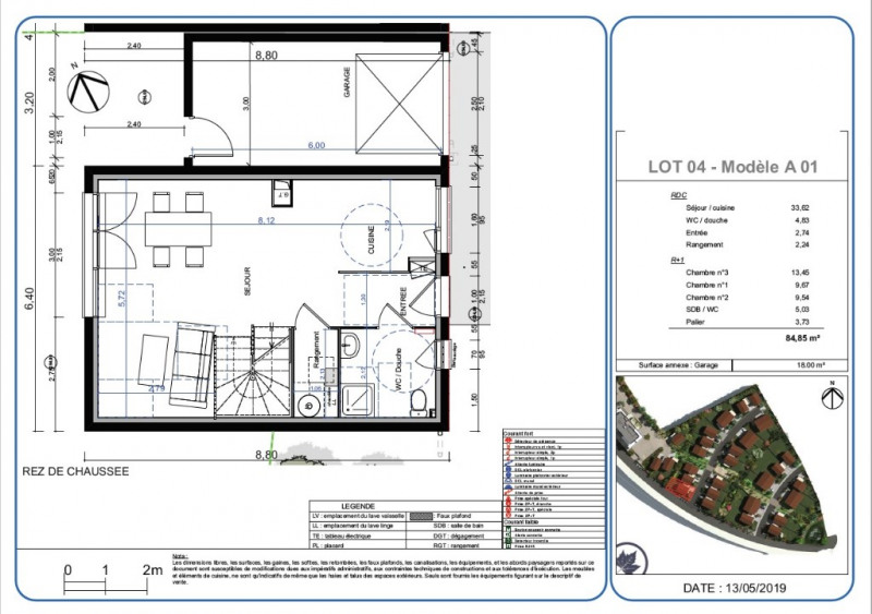 Vente maison / villa L isle d'abeau 259000€ - Photo 2