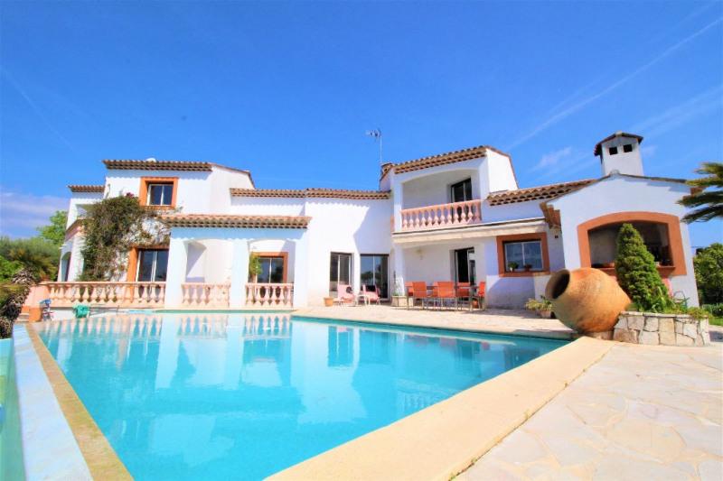 Vente de prestige maison / villa Villeneuve loubet 1785000€ - Photo 1