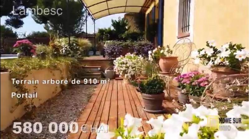 Revenda residencial de prestígio casa Lambesc 580000€ - Fotografia 9