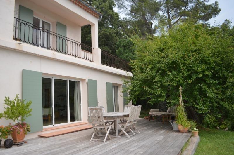 Deluxe sale house / villa Bagnols en foret 630000€ - Picture 1
