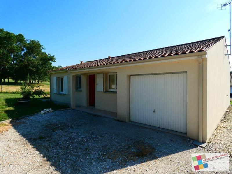 Vente maison / villa Reparsac 144450€ - Photo 1