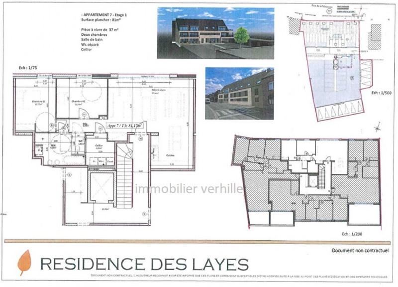Sale apartment Fleurbaix 247996€ - Picture 2