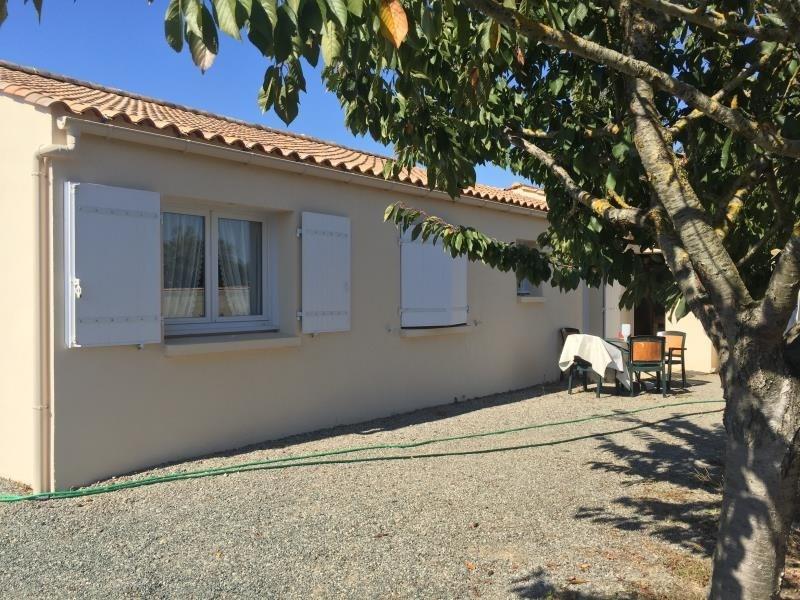 Sale house / villa St vincent sur jard 208000€ - Picture 4