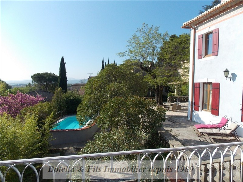 Deluxe sale chateau Goudargues 895 000€ - Picture 2