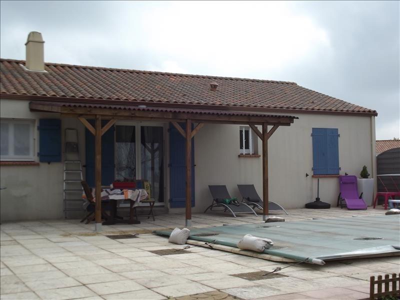 Sale house / villa St benoist sur mer 208000€ - Picture 1