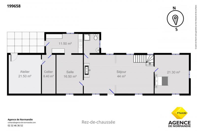Vente maison / villa Montreuil-l'argillé 199000€ - Photo 6