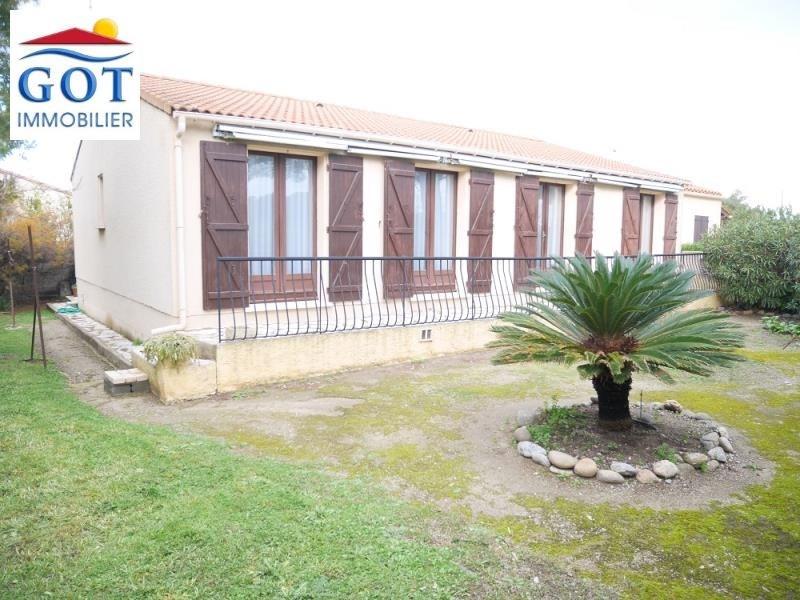 Vente maison / villa Le barcares 239000€ - Photo 1