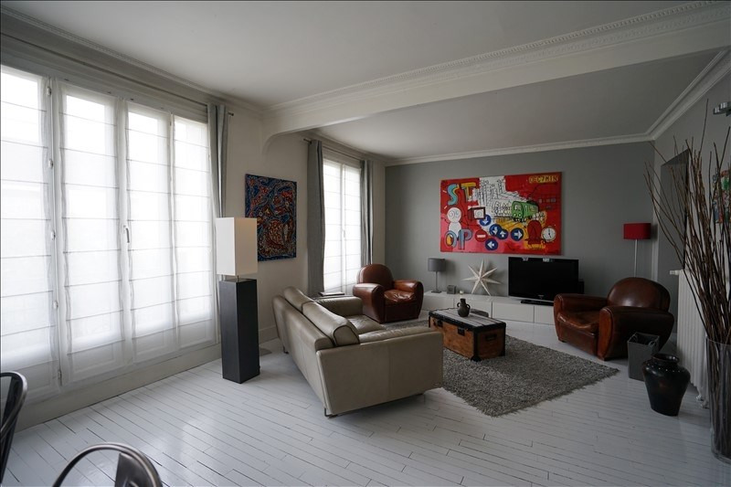 Sale apartment Asnieres sur seine 840 500€ - Picture 2
