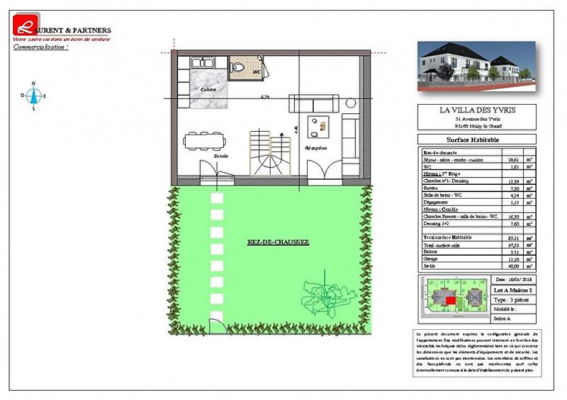 Vente maison / villa Noisy le grand 350000€ - Photo 12