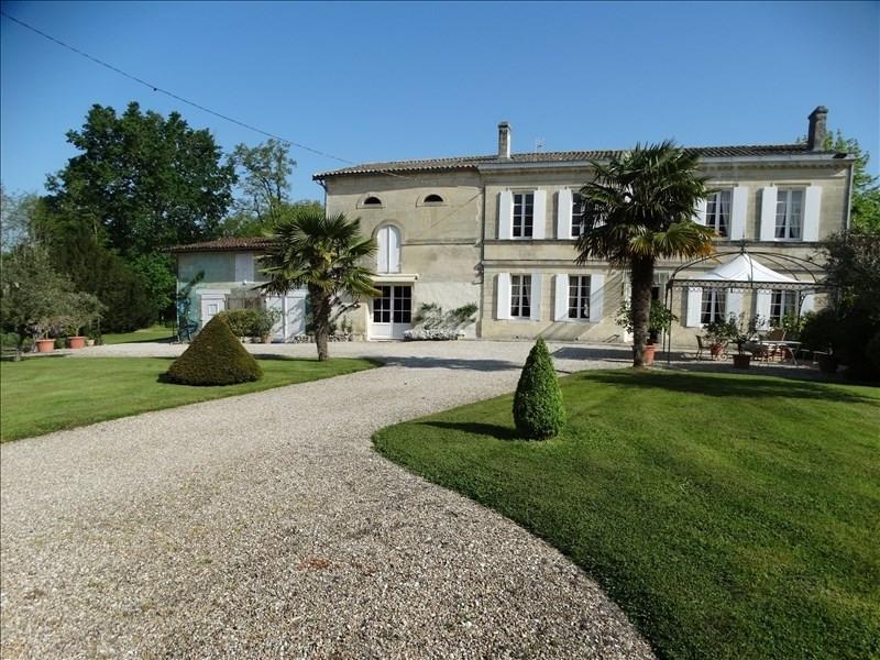 Deluxe sale house / villa Soussans 936000€ - Picture 1