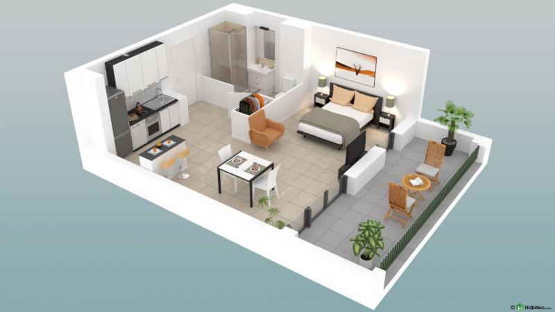 Appartement Vieux Boucau Les Bains 2 pièce (s) 35.6