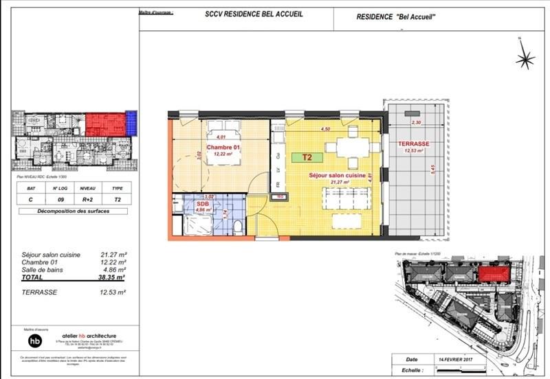 Vente appartement Bourgoin jallieu 106000€ - Photo 4
