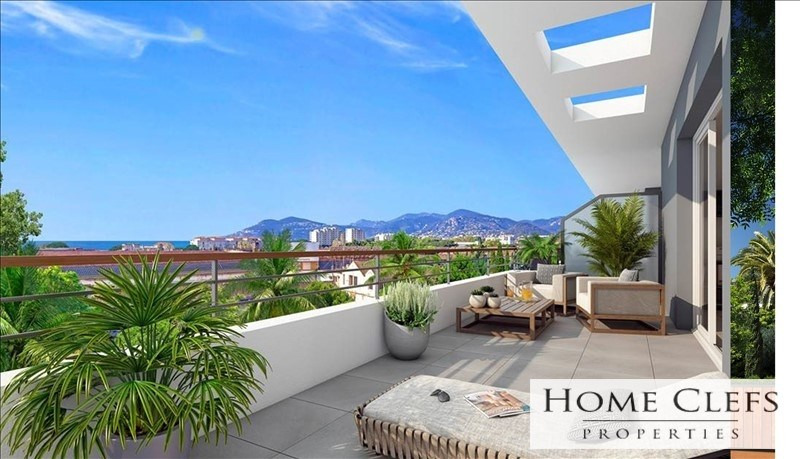 Vente appartement Cannes la bocca 403 000€ - Photo 1