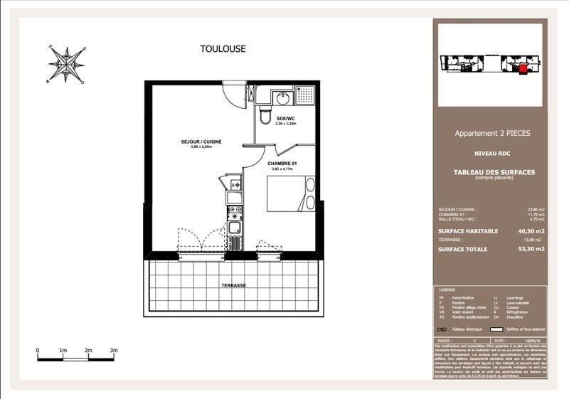 Vente appartement Toulouse 170000€ - Photo 5