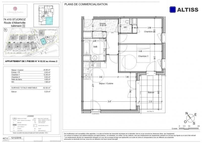 Vente appartement St jorioz 274000€ - Photo 2