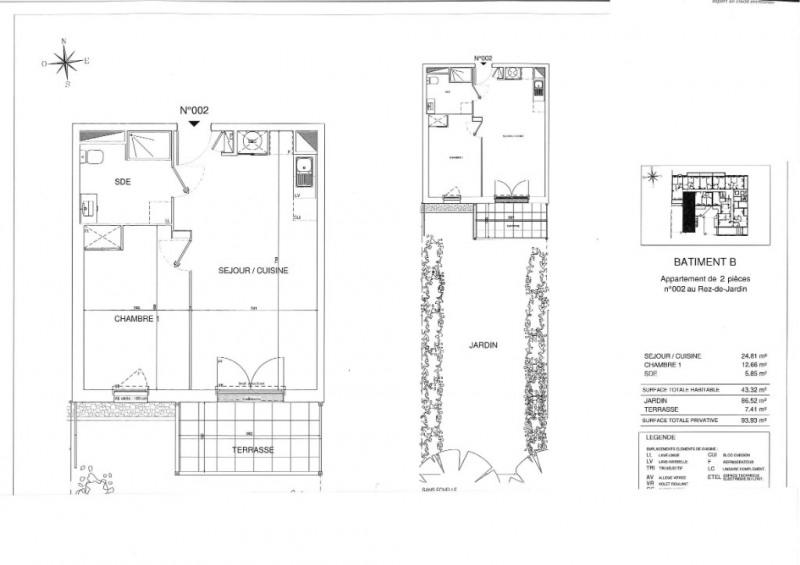 Vente appartement Sautron 215000€ - Photo 5