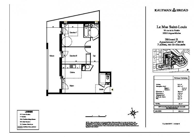 Vente appartement Aigues mortes 237000€ - Photo 3