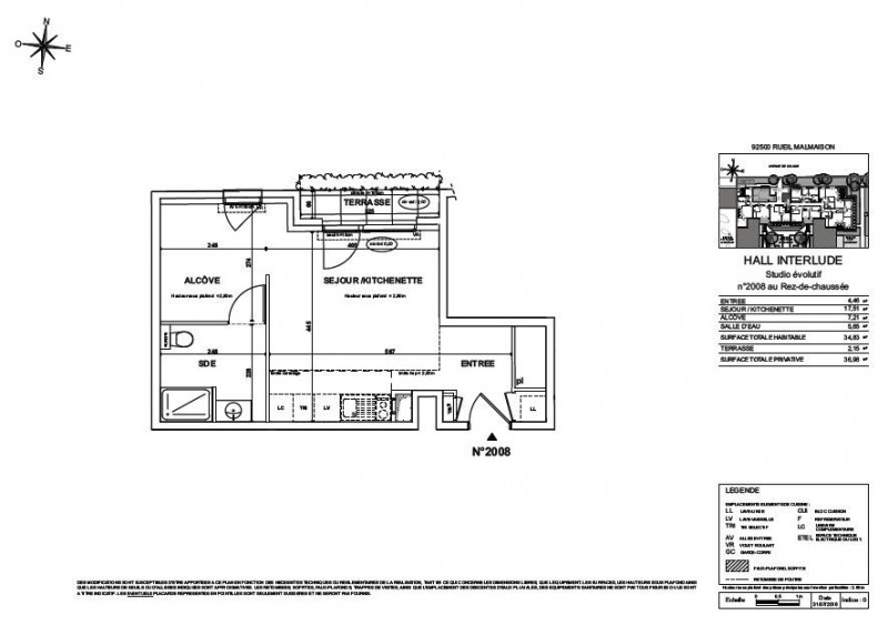 Verkauf wohnung Rueil malmaison 234000€ - Fotografie 2