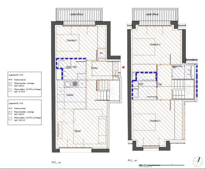 Vente appartement Clamart 499000€ - Photo 3